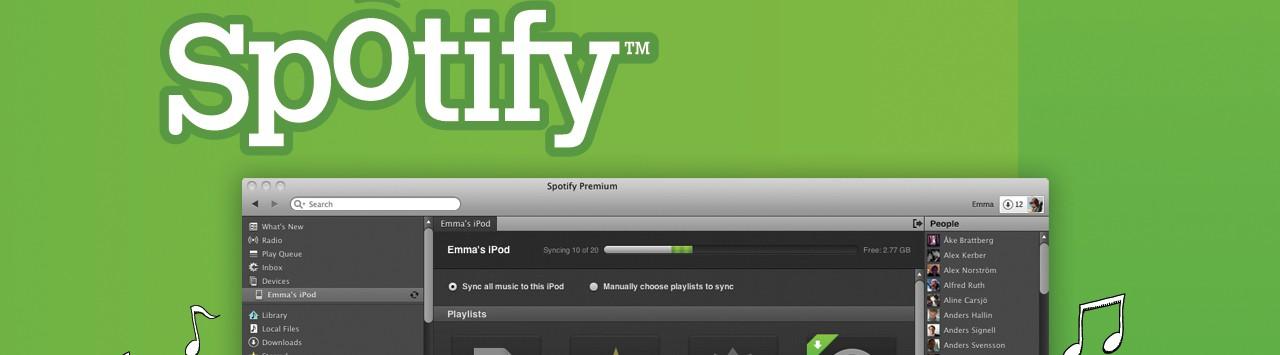 Spotify kommer endelig til Danmark